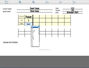Tour of The Progam Drum Instruction Drum Chart Builder 100quality