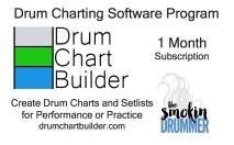 Drum Music Subscription Cards