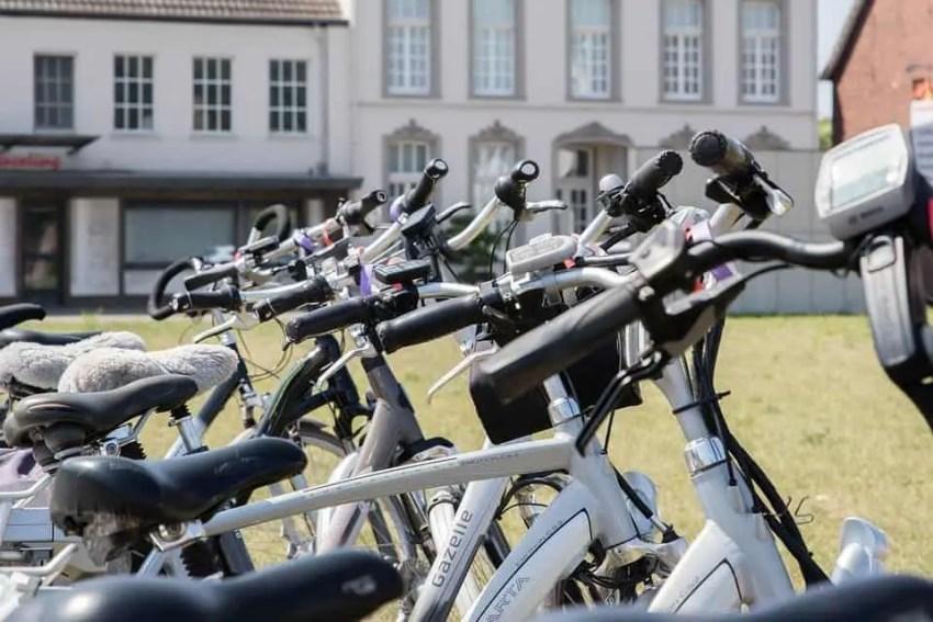 Easy E-Biking - Gazelle parked e-bikes, helping to make electric biking practical and fun