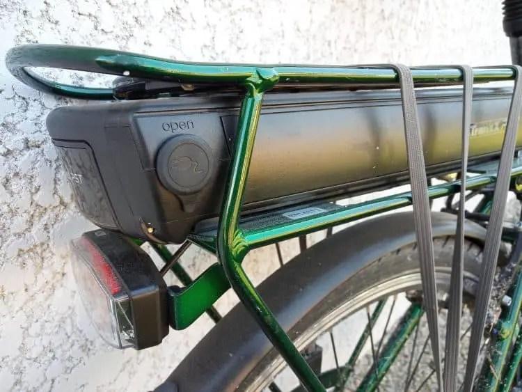 Easy E-Biking - city e-bike battery, helping to make electric biking practical and fun