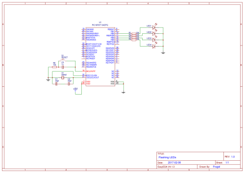 small resolution of flashing led circuit diagram