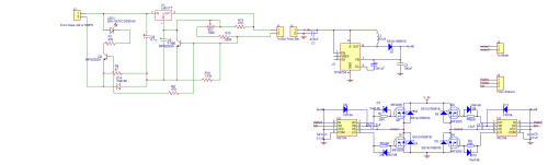 small resolution of h bridge driver circuit with ir2104 and microcontroller