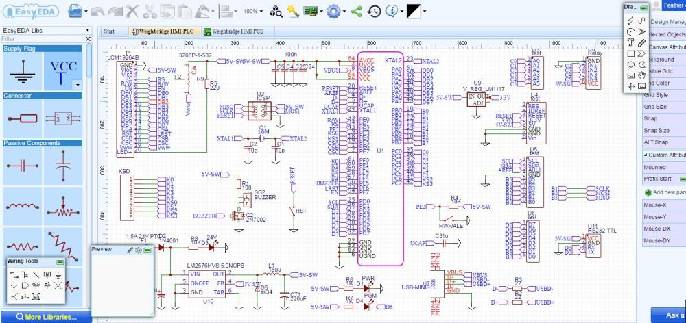 medium resolution of best free electrical schematic software easyeda electrical schematic software free electrical schematic creator