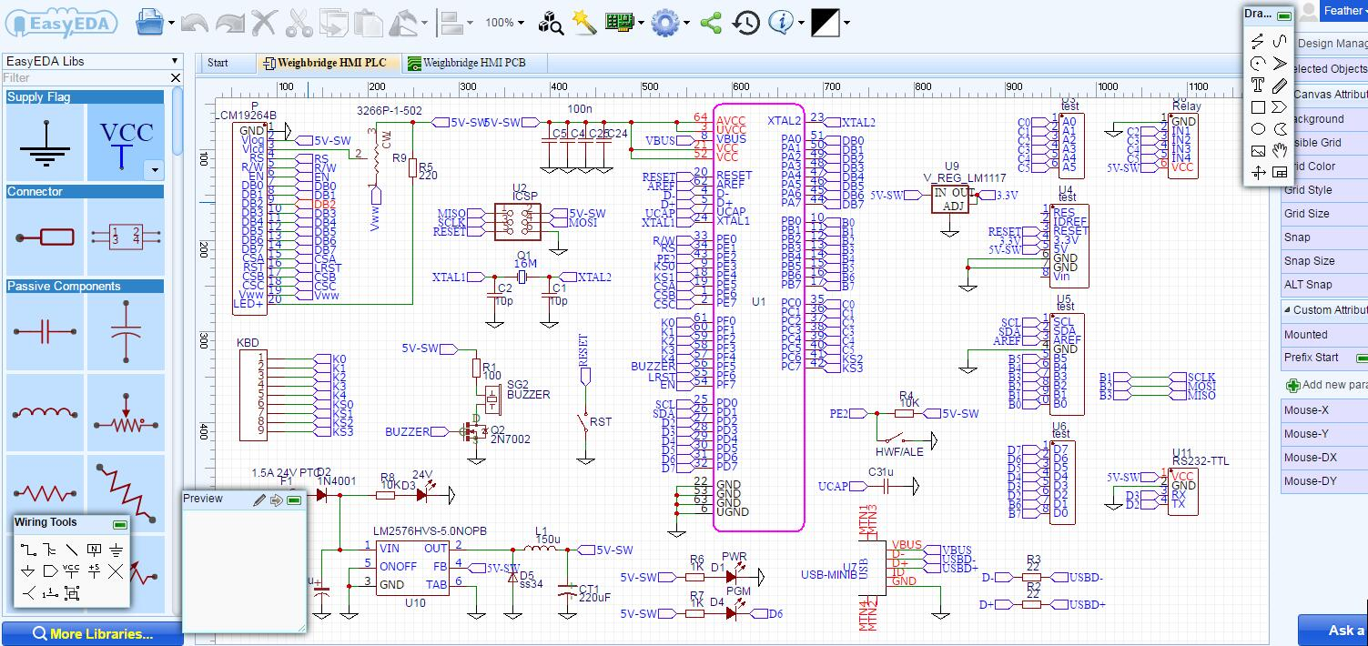 hight resolution of best free electrical schematic software easyeda electrical schematic software free electrical schematic creator