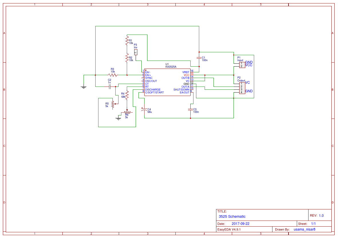 hight resolution of sg3525a pwm controller circuit