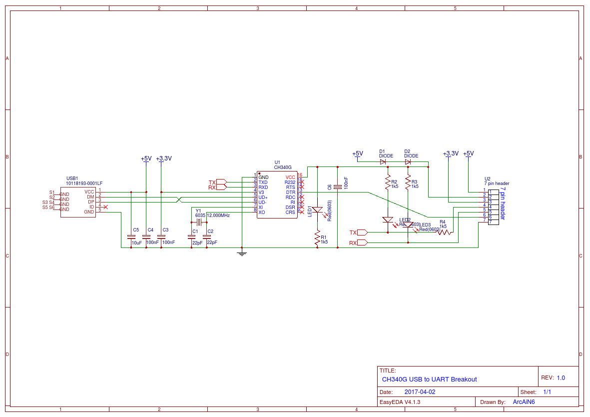 hight resolution of ch340g usb to uart dtr