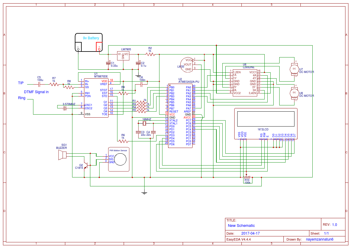 hight resolution of dtmf and mcu design bw