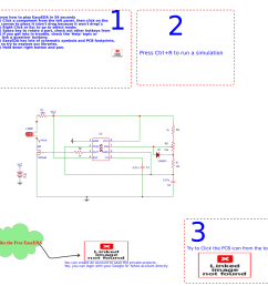 pwm dimmer using ne555 and mosfet irf540 schematic [ 1088 x 1026 Pixel ]