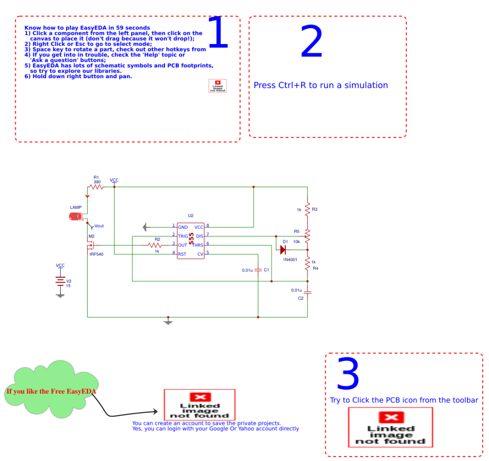 medium resolution of pwm dimmer using ne555 and mosfet irf540 schematic