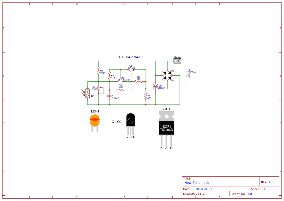 hight resolution of automatic night light circuit using scr easyeda lamp scr schematic