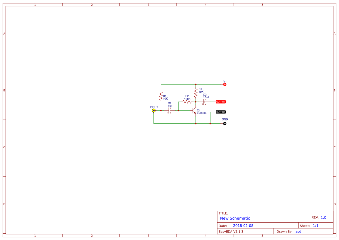 hight resolution of very simple preamplifiers using 2n3904