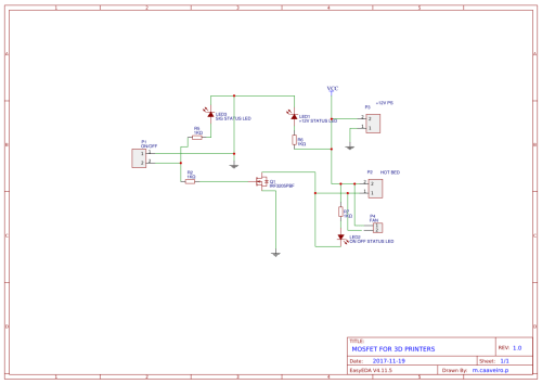 small resolution of mosfet 3d printer