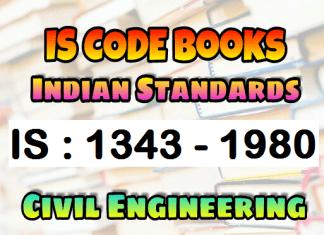 IS : 1343 - 1980 CODE Book