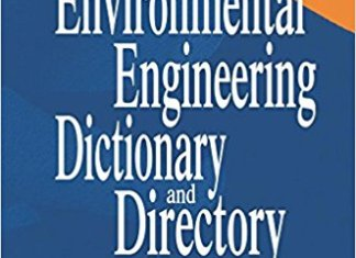 Environmental Engineering Dictionary and Directory By Thomas M.Pankratz