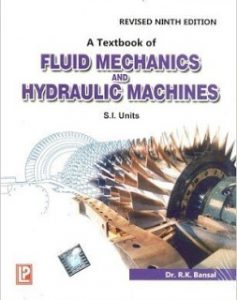 Hydraulic Machines Book