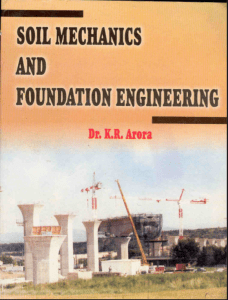Soil Mechanics And Foundation Engineering By Dr K.R. Arora – PDF Free Download