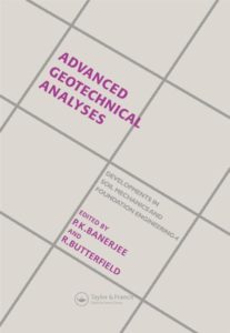 Advanced Geotechnical Analyses By P.K.Benerjee and R.Butterfield