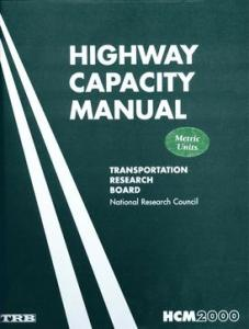 Highway Capacity Manual By Transportation Research Board - National Research Council