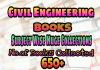 Civil Engineering Books (Subject wise)  Huge Collections – PDF Free Download