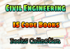 Civil Engineering (Indian Standards) IS Code Books Collection