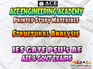 Structural Analysis ACE Engineering Academy GATE & PSU's Materials - Free Download