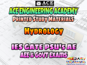 HYDROLOGY ACE ENGINEERING ACADEMY STUDY MATERIAL – REVISED EDITION – PDF FREE DOWNLOAD
