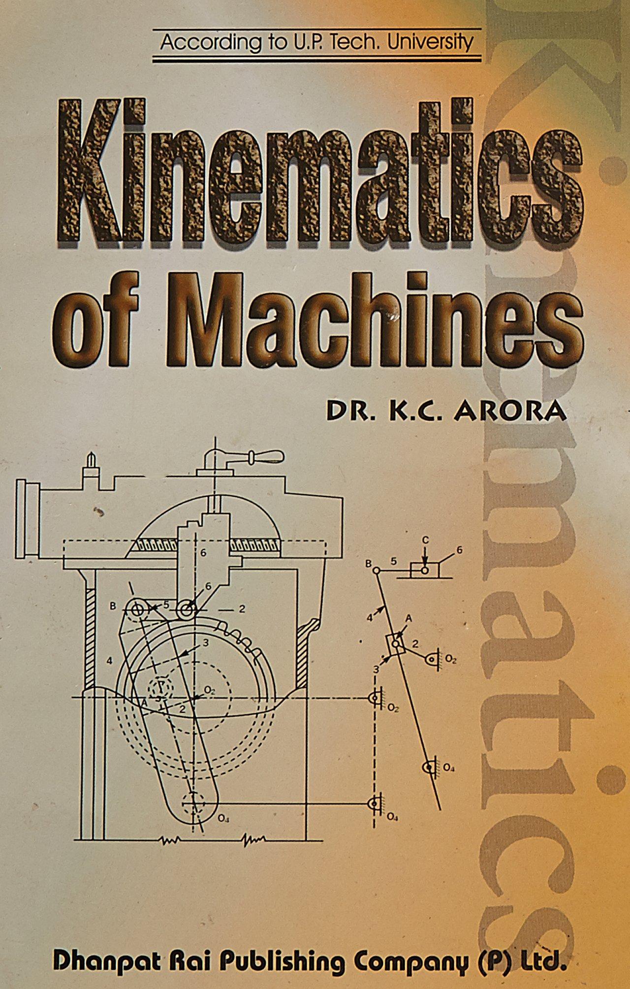 Kinematics of machinery book by jayakumar