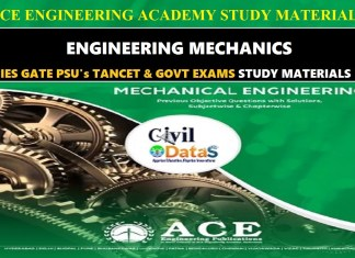 ENGINEERING MECHANICS ace notes