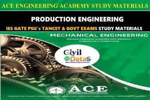 PRODUCTION ENGINEERING ace academy notes