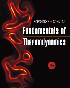 Fundamentals of Thermodynamics, 8th Edition By Claus Borgnakke