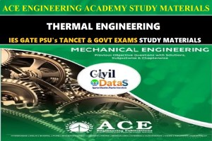 THERMAL ENGINEERING ACE NOTES