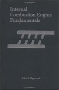 Internal Combustion Engine Fundamentals Book (PDF) By John Heywood