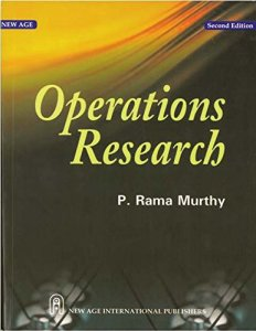 Operations Research Book By P Ramamurthy - Free Download PDF