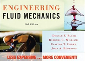 Engineering Fluid Mechanics Book (PDF) By Donald F. Elger, Clayton T. Crowe, John A. Roberson, Barbara C. Williams