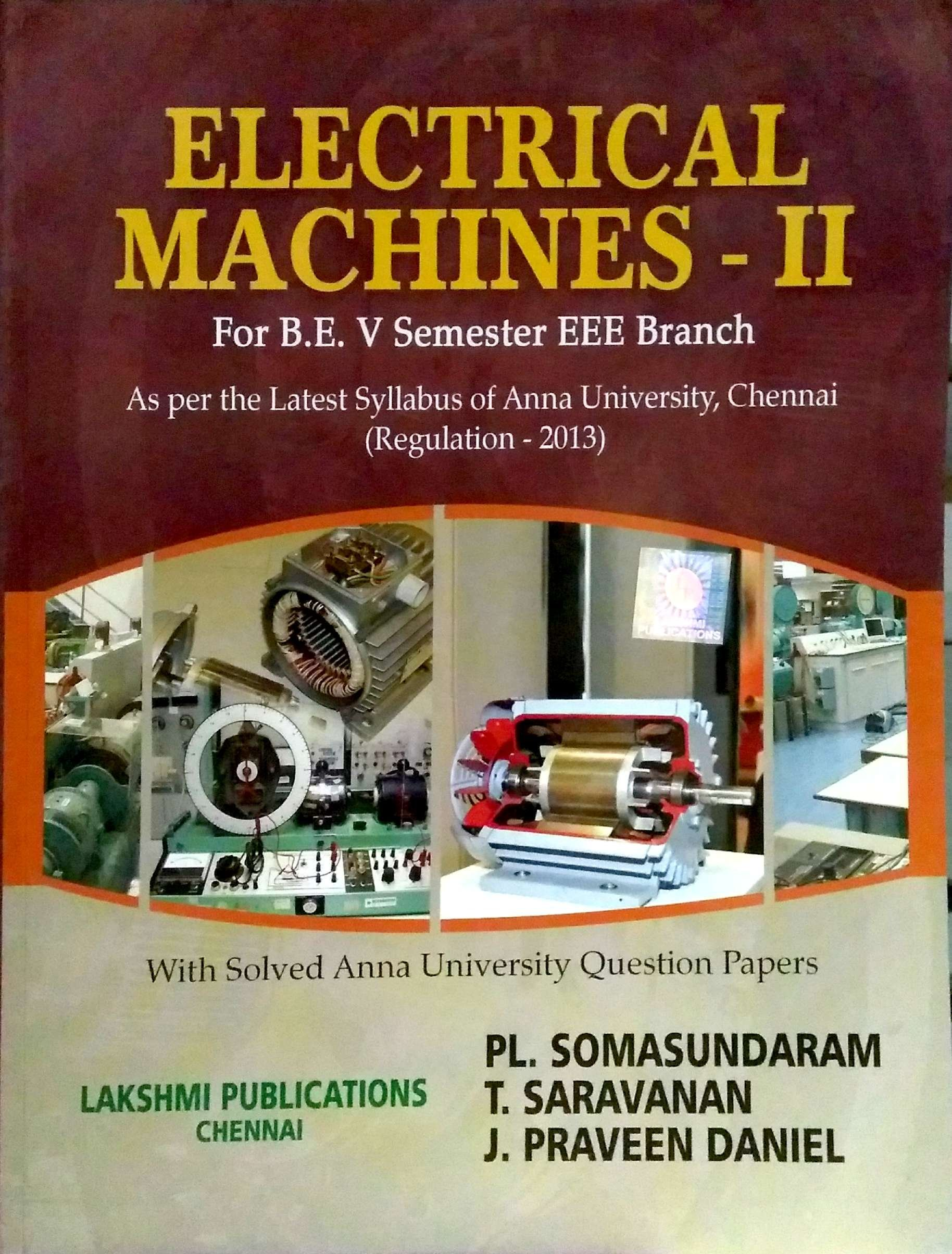 EE6504 Electrical Machines-II