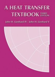 A HEAT TRANSFER TEXTBOOK BY JOHN H LIENHARD V, JOHN H LIENHARD IV