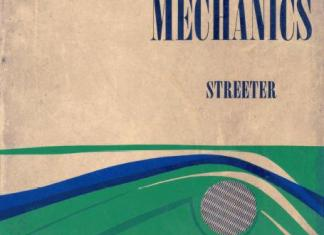 Fluid Mechanics Book (PDF) By Streeter International Student Edition - McGraw Hill Book Company – PDF Free Download