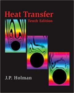 HEAT TRANSFER BY JACK P. HOLMAN