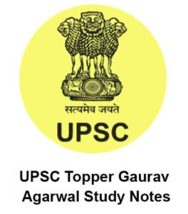 IAS Topper Notes Gaurav Aggrwal  – PDF Free Download