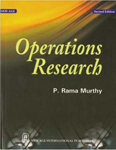 OPERATIONS RESEARCH BY P RAMAMURTHY