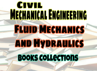 Fluid Mechanics and Hydraulics Standard Books – PDF Free Download