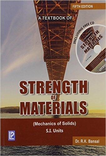 Strength Of Materials By Bansal Ebook