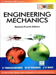 Engineering Mechanics (In SI Units) Book PDF By S. Timoshenko , D.H. Young , Pati Sukumar , J V Rao Free Download