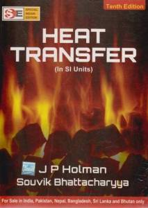 Heat Transfer Book (PDF) By Jack P. Holman Free Download
