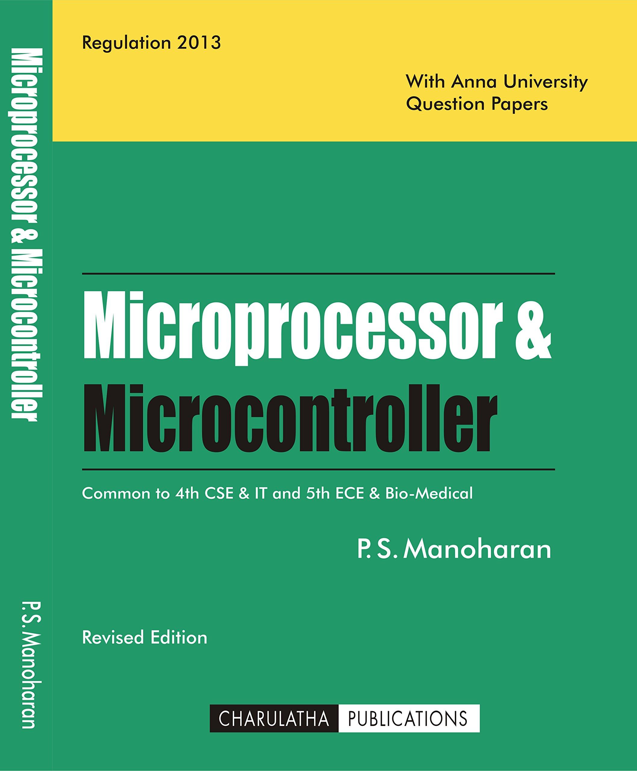 PDF] EC6504 Microprocessor and Microcontroller (MPMC) Books, Lecture