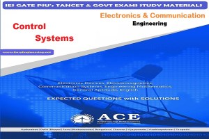 Control Systems Ace Engineering Academy IES GATE PSU's TANCET & GOVT Exams Study Material For Electronics Communication Engineering – PDF Free Download