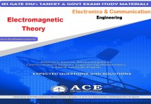 Electromagnetic Theory Ace Engineering Academy IES GATE PSU's TANCET & GOVT Exams Study Material For Electronics Communication Engineering – PDF Free Download
