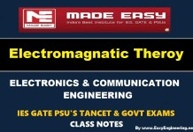 Electro Magnetic Theory Made Easy Study Materials (Notes) Free Download