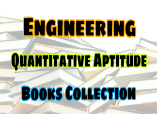 Quantity Aptitude Books Collection – PDF Free Download