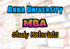 Anna University MBA Question Bank Collection